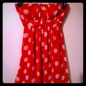 Sleeveless little dress